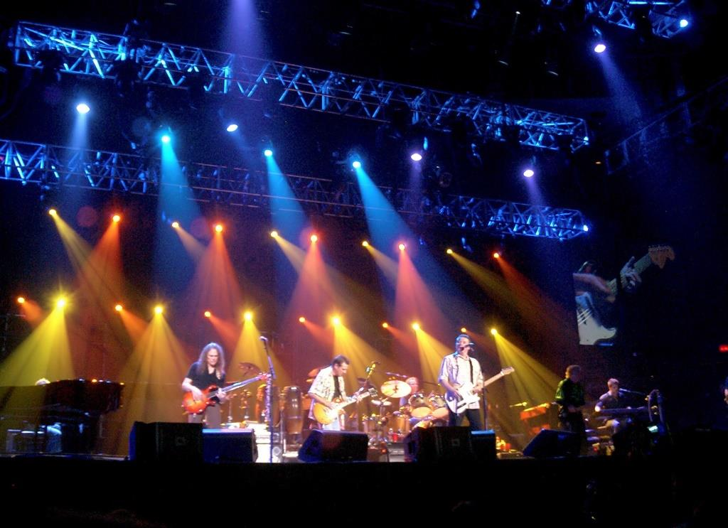 The Eagles live in Concert