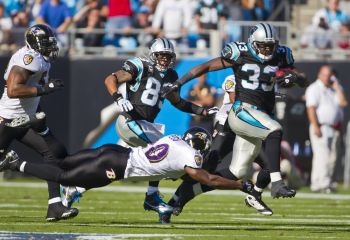 Drive der Carolina Panthers