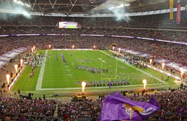 NFL London Games - Club Wembley Sitzplatz Endzone