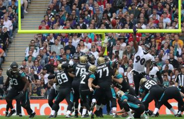 NFL Action in London im Wembley Stadion