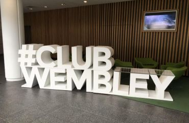 Exklusiver #Club Wembley Bereich
