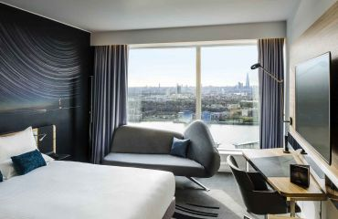 Novotel London Canary Wharf Zimmer