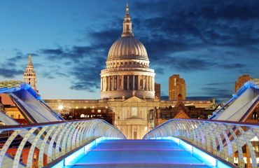 Die St Pauls Cathedrale in London