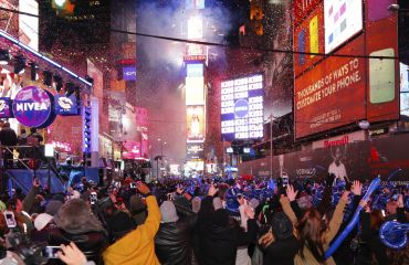 New York Silvester - Happy New Year am Times Square